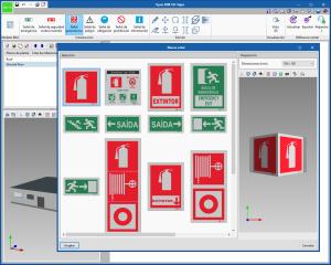 Open BIM S3F Signs. Ambiente de trabalho